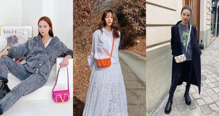 李聖經、Jessica狂曬同款!Valentino這款V字Logo包太有魅力,今年小包就挑這一款!-1